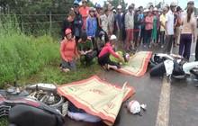 Xe máy đâm trực diện xe tải ở Bình Phước, hai người tử vong tại chỗ
