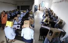 Trường học bị chỉ trích vì bắt sinh viên đội thùng carton