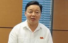 Bộ trưởng Bộ TN-MT Trần Hồng Hà: Tôi cũng ăn nước sông Đà nhiễm dầu 3 ngày