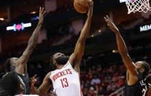 NBA 19-20: Bùng nổ ở hiệp 4 với 17 điểm, James Harden dẫn dắt Houston Rockets vượt qua màn ngược dòng của Los Angeles Clippers