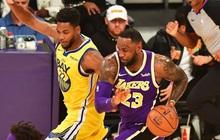 """NBA 19-20: Áp đảo ở khu vực dưới rổ, Los Angeles Lakers dễ dàng """"hủy diệt"""" Golden State Warriors"""