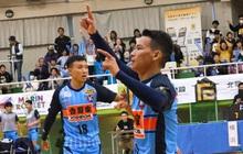 """Minh Trí, Thái Huy """"chào sân"""" ấn tượng trong màu áo Y.S.C.C. Yokohama tại F-League 2"""