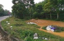 Ngừng cấp nước tạm thời vì sự cố vỡ ống dẫn nước sạch sông Đà