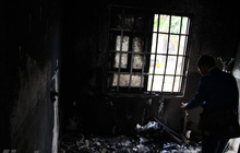 Bình Phước: Nghi án chồng dùng xăng đốt vợ rồi uống thuốc sâu tự tử