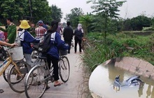 Nghệ An: Người đàn ông tử vong dưới mương nước cùng chiếc xe máy