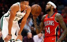 NBA 2019-2020 ngày 22/11: Milwaukee Bucks vươn lên dẫn đầu miền Đông, New Orleans Pelicans tiếp đà hồi sinh mạnh mẽ ở miền Tây