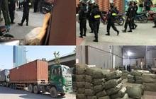 Khám xét hàng loạt điểm nghi chứa thuốc bắc nhập lậu tại Ninh Hiệp