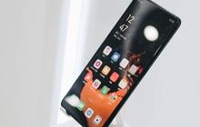 Cận cảnh smartphone camera ẩn dưới màn hình, không có cổng sạc của Oppo