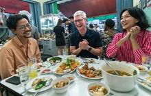 Sếp tổng Apple đi chùa du ngoạn Nhật Bản, khen ẩm thực Đông Nam Á ngon