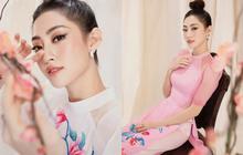 Bộ ảnh mới đong đầy sắc xuân của Lương Thuỳ Linh: Diện áo dài nền nã, tóc búi cao khoe nhan sắc cực xinh đẹp!