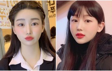 Những cô nàng này là minh chứng cho thấy: Tết nhất mà không muốn làm tóc cầu kỳ thì cứ cắt tóc mái là xinh lên vài chân kính