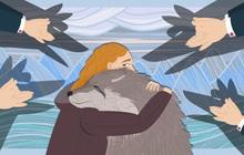 """Lợi ích đầy """"đau lòng"""" của biến đổi khí hậu: Chiến tranh sẽ kết thúc, nhưng bởi đất mẹ có còn gì để tranh giành nữa đâu?"""