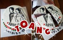 Đặt bánh cô dâu chú rể mừng 30 năm ngày cưới của bố mẹ, bạn trẻ Hàn Quốc nhận cái kết không thể đắng hơn khi đến màn cắt bánh
