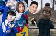 Mừng sinh nhật quý tử 3 tuổi, Angela Baby - Huỳnh Hiểu Minh không đả động đến nhau, thân ai người nấy chúc mừng