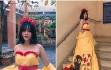 Trang phục tái chế và thần thái không khác gì người mẫu chuyên nghiệp của nữ sinh Sài Gòn: Chỉ biết thốt lên đỉnh quá!