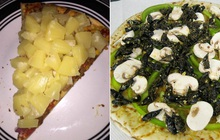 Những chiếc pizza kỳ quặc nhất hành tinh ai nhìn vào cũng muốn té ngửa, Việt Nam có hàng loạt cái tên góp mặt (Phần 3)