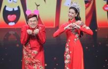 Hoa hậu Khánh Vân mang vương miện tiền tỷ lên sân khấu làm MC