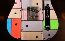 """Gắn lại từ 106 iPhone và 1 iPod Touch, đây đích thị là cây guitar độc nhất thế giới, giá cũng """"trên trời"""""""