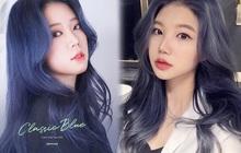 """Có ít nhất 4 tông xanh khác nhau cho bạn chọn nếu muốn """"đu"""" trend tóc xanh như idol Hàn Quốc"""