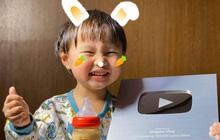Bỏ qua lùm xùm về kênh YouTube triệu subs, Quỳnh Trần JP đón tin vui mới khi kênh của bé Sa vừa chính thức ẵm nút Bạc