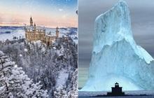 Chùm ảnh mùa đông băng tuyết trắng xóa phủ khắp vạn vật đẹp đến mê hồn, trông như khung cảnh trong truyện cổ tích