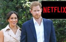 Vừa 'chân ướt chân ráo' rời Hoàng gia Anh, vợ chồng Hoàng tử Harry và Meghan Markle đã được ông lớn Netflix săn đón như siêu sao