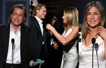 """3 khoảnh khắc đáng nhớ của SAG Awards 2020: Brad Pitt nhìn Jennifer Aniston âu yếm, tình cũ """"cùng rủ"""" tái hợp tới nơi rồi?"""