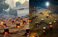 """Hàng trăm nồi bánh tét """"đỏ lửa"""" ở Kon Tum khiến bao người xao xuyến: """"Tết đã đến rất gần rồi"""""""