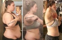 Thán phục trước hành trình lội ngược dòng giảm cân của nàng béo 121kg với sức ăn bằng 4 người cộng lại