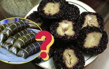 Không phải bị cháy, thực sự là có một loại bánh chưng đen sì như than, là đặc sản Tết Việt Nam?