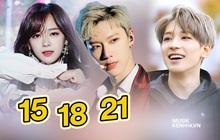 Thời gian debut của các idol tuổi Tý: Người ra mắt khi chỉ mới 15 tuổi, người dành cả thanh xuân trong phòng tập để được debut