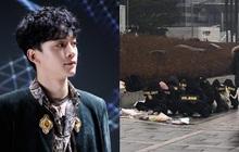 Fan Hàn hùng hổ biểu tình đòi Chen rời EXO, ai dè chỉ vài mống đến dự trong khi fan quốc tế liên tục đòi giữ nhóm 9 người