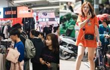 Cập nhật nhanh tình hình mua sắm của giới trẻ sát Tết: Các khu tổ hợp quần áo chật kín người, khi đi hết mình khi về... hết tiền