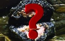 Không phải bánh chưng xanh, Việt Nam còn một loại bánh chưng Đen làm từ nguyên liệu rất đặc biệt, bạn có biết?