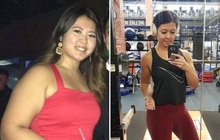Chìa khoá giúp duy trì vóc dáng của cô gái người Mỹ sau khi mất kiểm soát cân nặng vì dùng thuốc