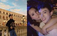 """Cuộc sống như mơ của con trai Hoa hậu Thu Hoài: Du lịch """"chanh sả"""" check-in từ Mỹ sang Hàn, hội bạn toàn người nổi tiếng"""