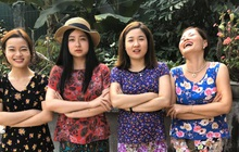 Loạt ảnh gia đình 5 chị em gái cứ Tết về nhà lại lôi quần áo hoa hoè của mẹ ra mặc: Đáng yêu một cách khó đỡ!