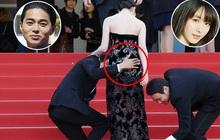 """Lật lại hình ảnh chồng con gái tài tử Ken Watanabe ngang nhiên động chạm vòng 3 """"nàng thơ"""" của Song Joong Ki"""