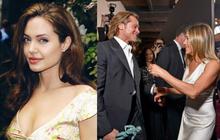 """Chứng kiến Brad Pitt và Jennifer Aniston công khai """"tái hợp"""" thân mật, phản ứng của Angelina Jolie như thế nào?"""