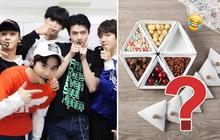 """Hốt hoảng với khay bánh kẹo hình logo EXO, SM Entertainment mới tung ra thị trường để """"tặng"""" fan Việt dịp Tết này?"""