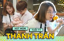 Hot mom tuổi Tý Thanh Trần: 2 con rồi nhưng vợ chồng vẫn cãi cọ đến mức lôi nhau ra toà rồi... quành về