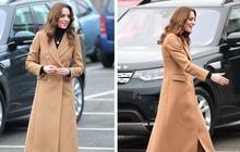 """Chẳng ngờ phía sau set đồ tưởng chừng giản dị của Công nương Kate Middleton lại """"chất chơi"""" nhường vậy"""