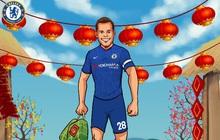 Các đội bóng lớn hàng đầu thế giới chúc Tết Canh Tý 2020: Sao Chelsea xách bánh chưng đi dạo phố, đồng đội Son Heung-min sang Việt Nam ăn cỗ với fan