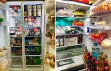 """""""Khoe tủ lạnh ngày Tết nhà chúng mày đi nào"""": chỉ chờ có thế là hàng trăm chiếc tủ lạnh chật cứng được show ra!"""