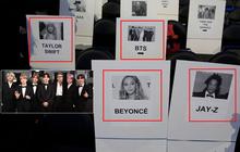 Tiết lộ chỗ ngồi khủng của BTS tại Grammy 2020: Cạnh Taylor Swift, còn sau ngay cặp vợ chồng quyền lực bậc nhất Hollywood