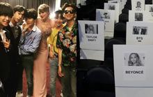 """Taylor Swift ngồi cạnh BTS ở vị trí đẹp, Ariana Grande lại bị """"thất sủng"""" tại Grammy 2020 khi nhìn vào sơ đồ vị trí chỗ ngồi?"""