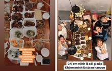"""Sao Việt dành cả cái Tết này để làm gì: nếu không ăn uống """"tơi bời"""" thì cũng là để... nấu ăn và làm nữ công gia chánh"""