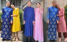 Sau tất cả, Louis Nguyễn cũng diện áo dài mới đón Tết chứ không trưng dụng bộ cũ như mấy năm trước nữa rồi!