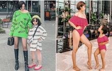 """Mina Phạm và Ngọc Mon: 2 hot mom đã ngoài 30 nhưng vẫn lên đồ cực """"xì tin xì khói"""" cùng nhóc tì sành điệu"""