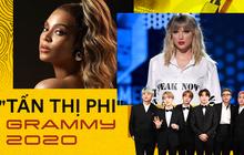 """Sát giờ G, Grammy 2020 nhận cả rổ """"phốt"""": Taylor Swift đến vợ chồng Beyoncé và Jay-Z """"cạch mặt"""", phân biệt đối xử BTS, bị người trong cuộc bóc mẽ!"""